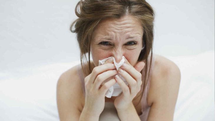 Las alergias pueden presentarse a diferentes cosas