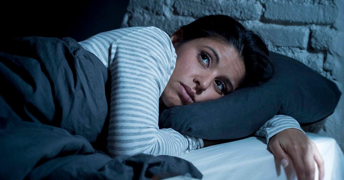 Ansiedad nocturna provoca problemas de sueño