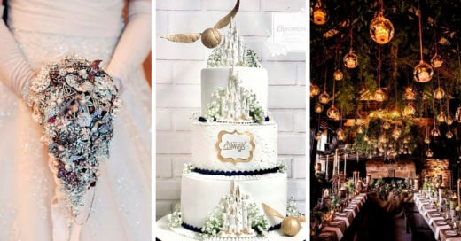 14 Mágicas ideas para una boda inspirada en Harry Potter