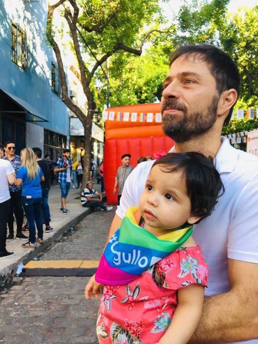 Braulio deseaba ser padre y descubrió la coparentalidad