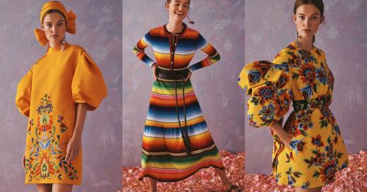 Inspiración mexicana; la nueva y colorida colección de Carolina Herrera