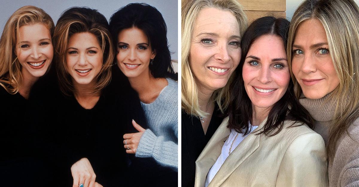 Rachel, Monica y Phoebe, una amistad fuera de la pantalla
