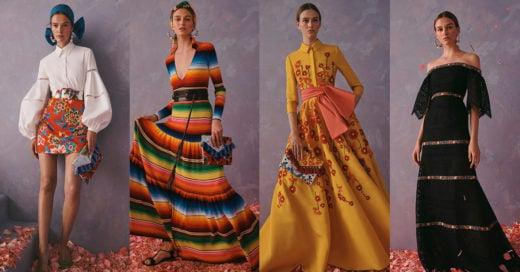 Secretaría de Cultura acusa a Carolina Herrera de apropiación cultural