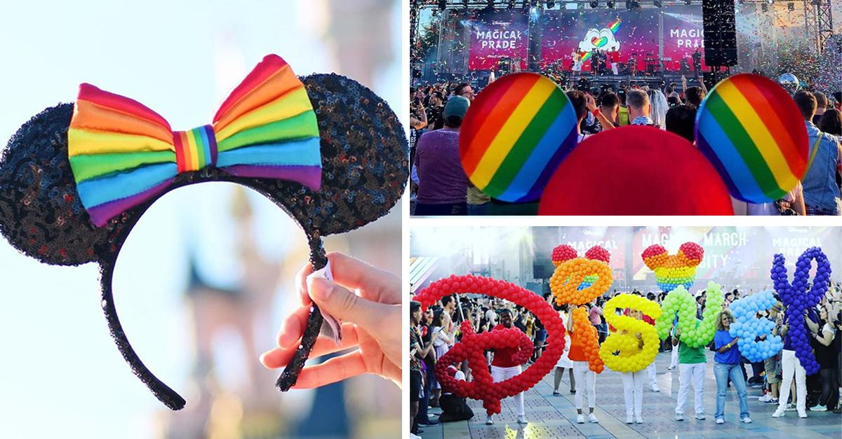 Disneylandia celebra la diversidad y el orgullo LGBTI+
