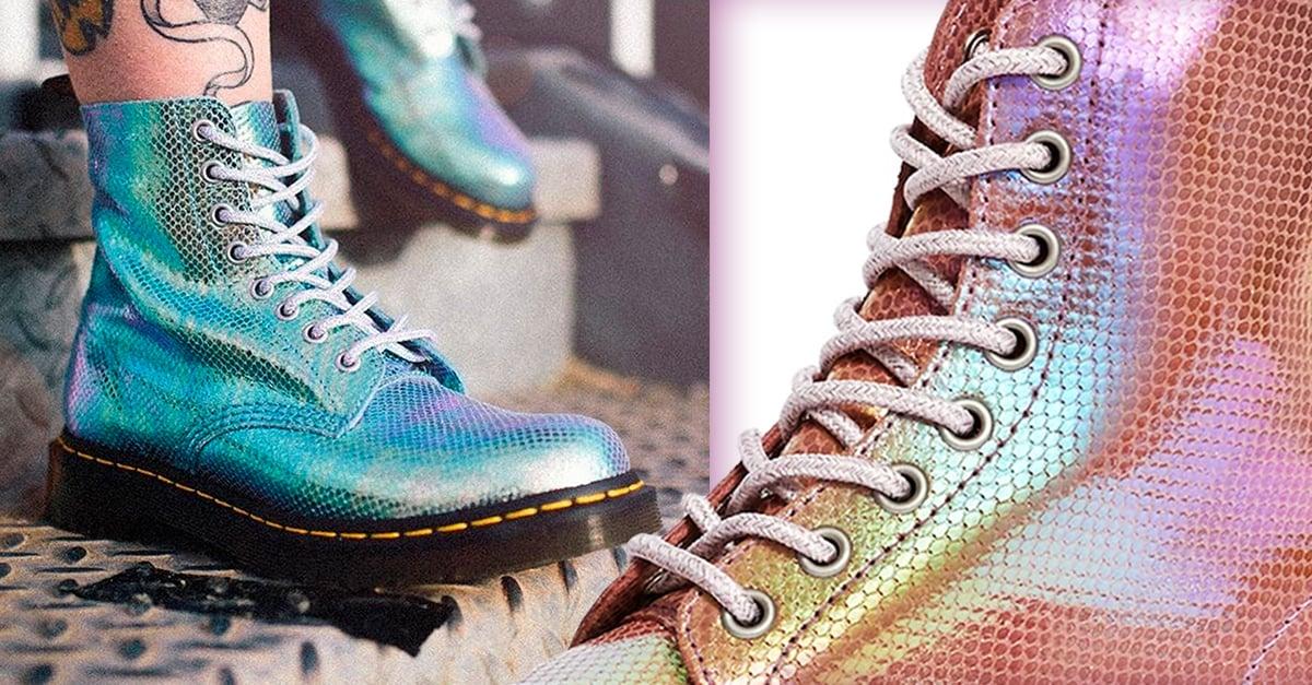 Dr. Martens crea su nueva líneas de botas en colores sirena