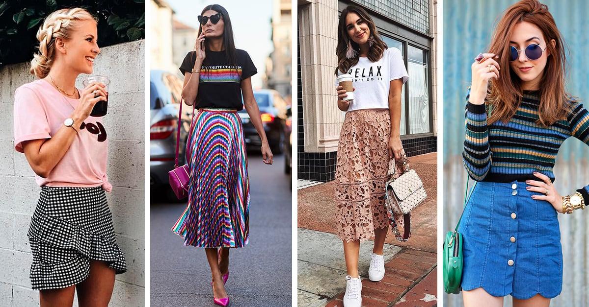 20 Faldas que debes usar para decirle adiós al calor