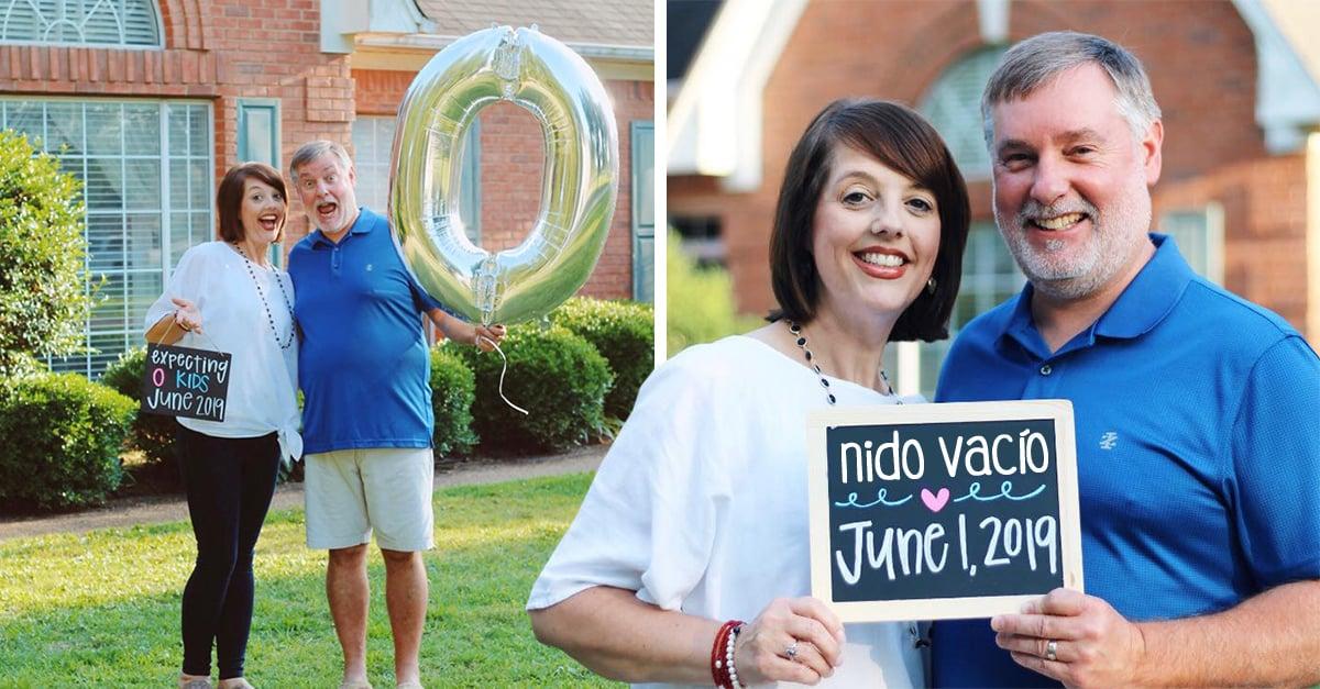 Así celebró esta pareja el no tener más hijos en casa; en verdad se ven felices