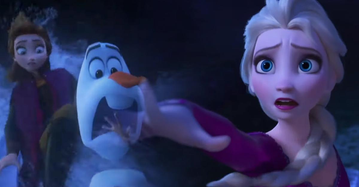 El segundo tráiler de Frozen 2 es más sombrío que el primero