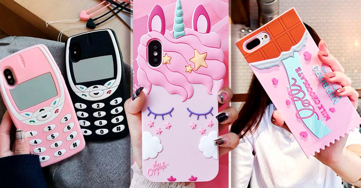 15 Fundas kawaii para celular que tu niña interior amará