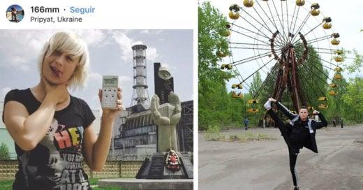 Causa polémica que influencers usen Chernóbil para ganar seguidores