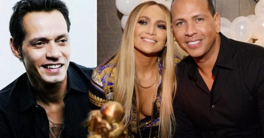 Jennifer Lopez tuvo una cita doble: salió con su prometido y Marc Anthony