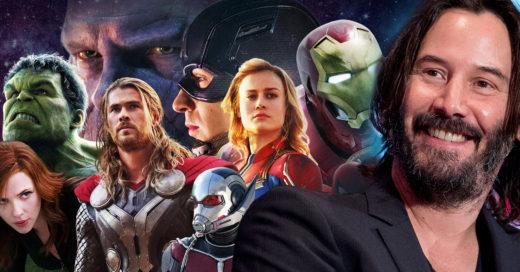 Keanu Reeves podría estar en nuevos proyectos de Marvel