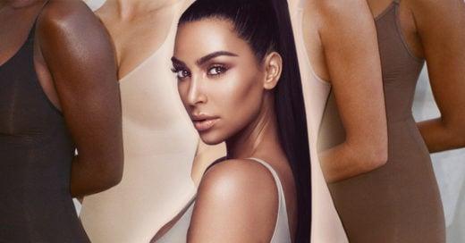 Kim Kardashian estrena marca de fajas y causa polémica