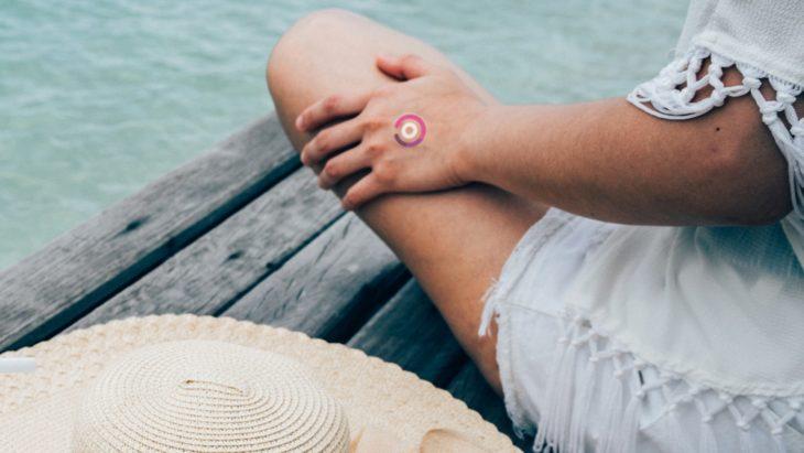 LogicInk tatuaje temporal que avisa cuando hay exposición prolongada a rayos UV