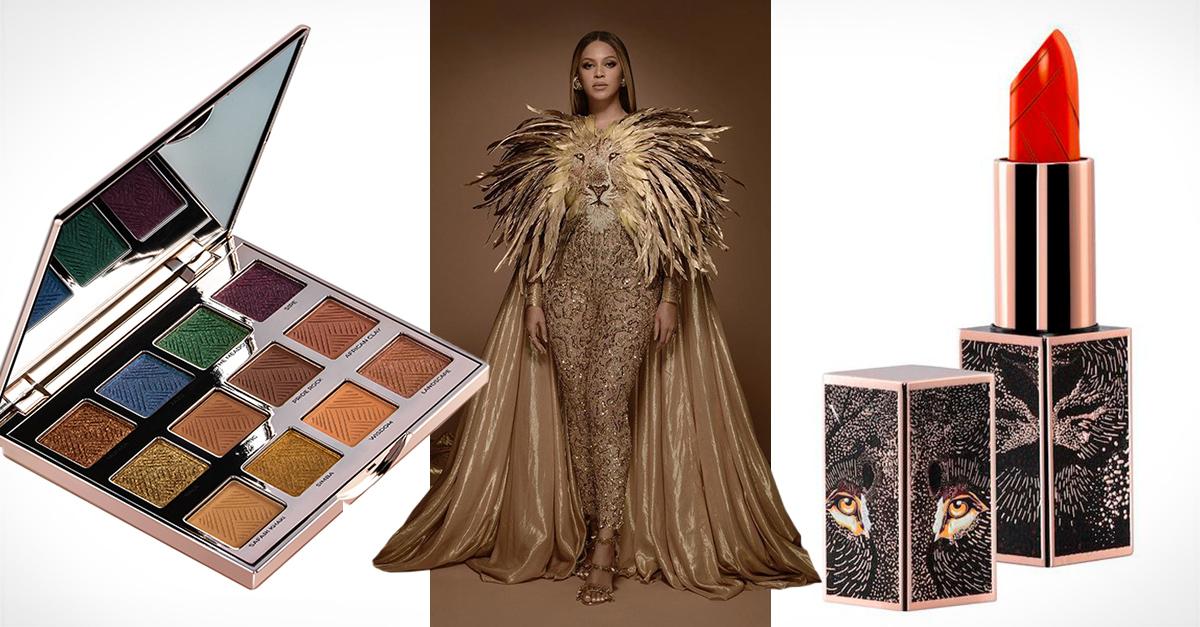 El maquillista de Beyoncé crea una colección de maquillaje inspirada en El Rey León
