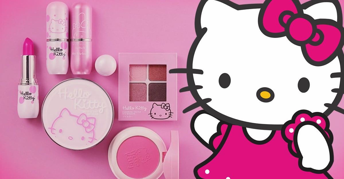 Hello Kitty y Miniso unen fuerzas para crear una línea de maquillaje de ensueño