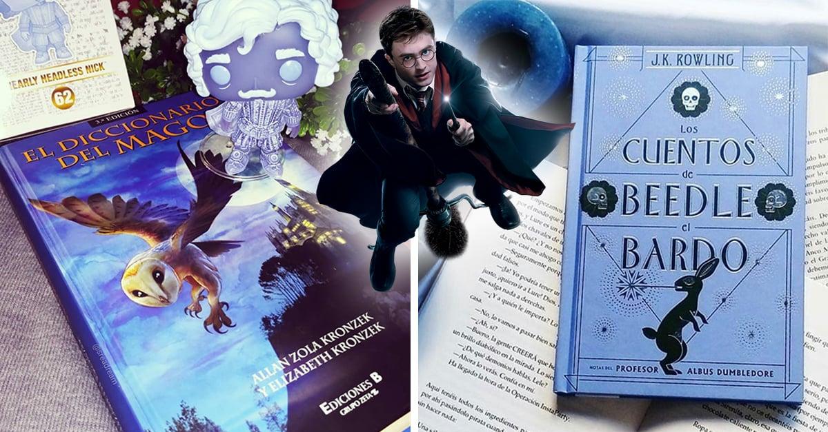 11 Libros del mundo mágico de Harry Potter que solo los muggles no conocen