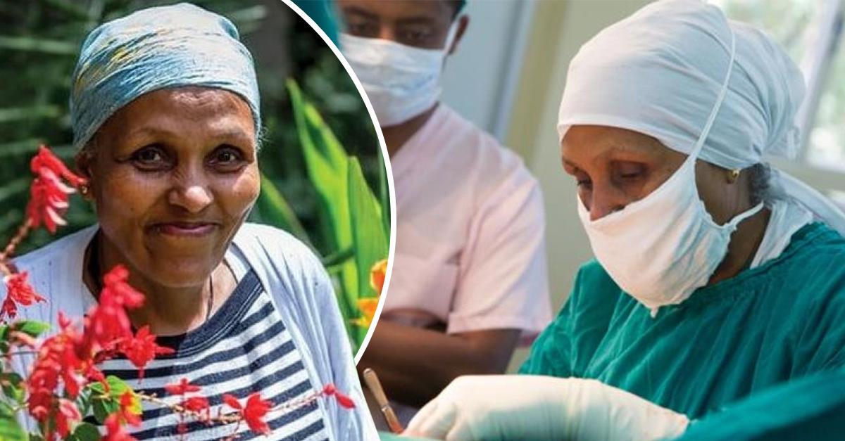 Mamitu Gashe, la mujer etíope que sin ser médico, se especializa en operar fístulas obstétricas