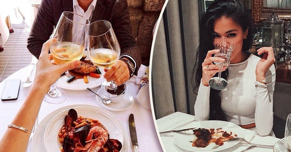 Estudio demuestra que mujeres han asistido a una cita simplemente para comer gratis