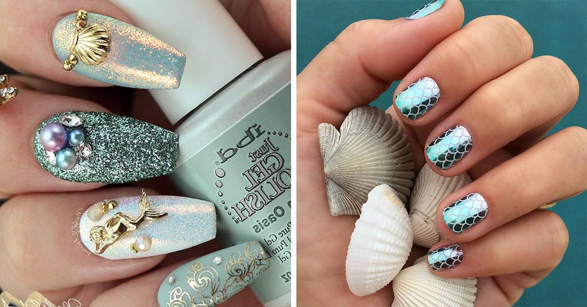 13 Diseños de uñas que te convertirán en la reina de las olas