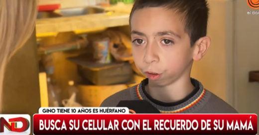 Niño olvida celular con fotos de su mamá fallecida en un taxi, pide ayuda para recuperarlo