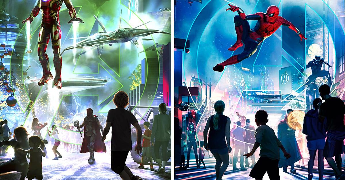 """Disney creará parque de """"Los Vengadores"""""""