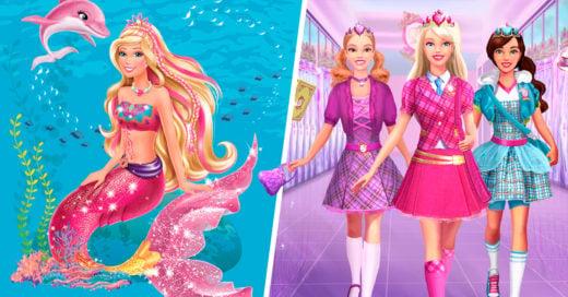 10 Películas de Barbie que probablemente no recuerdas