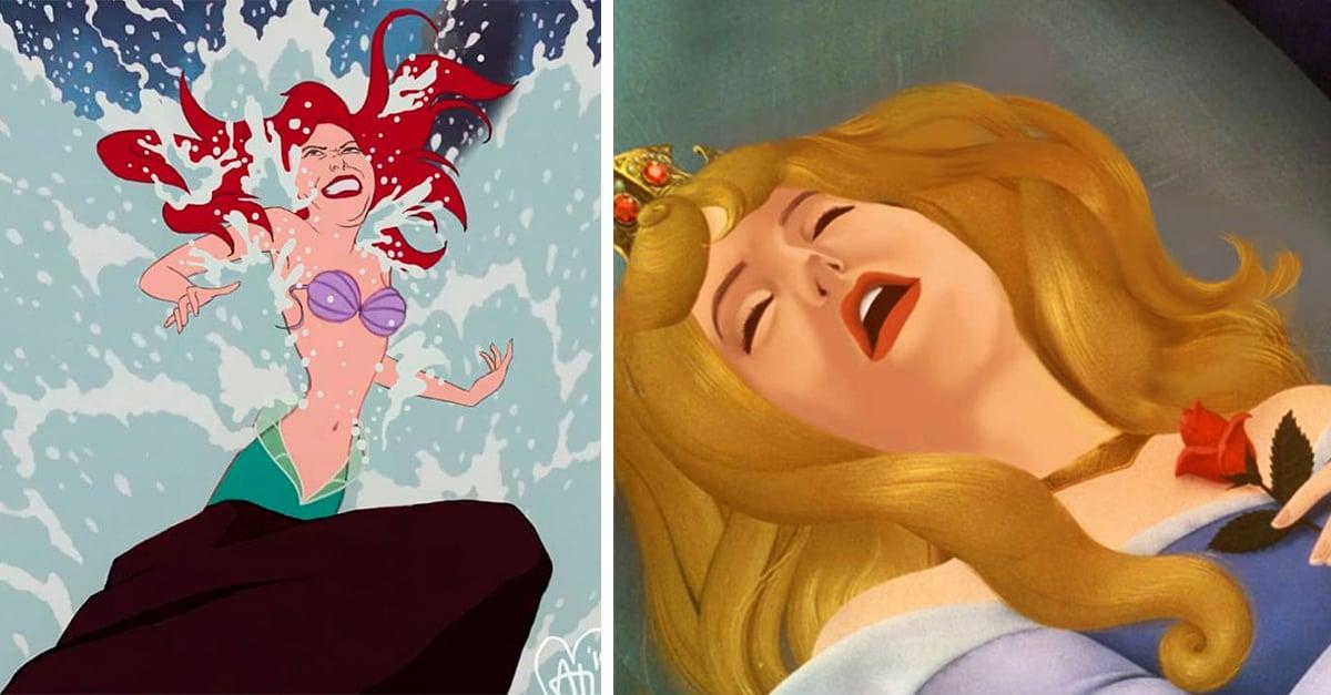 Artista recrea a las princesas Disney y las muestra de una manera más real