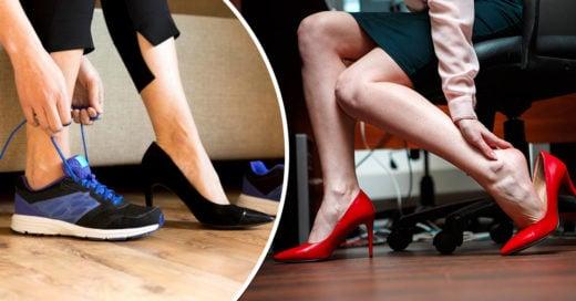 Piden prohibir en Japón el uso de zapatos de tacón en el trabajo