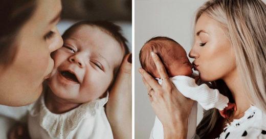 """Herpes labial o """"beso de la muerte"""", peligro para bebés"""