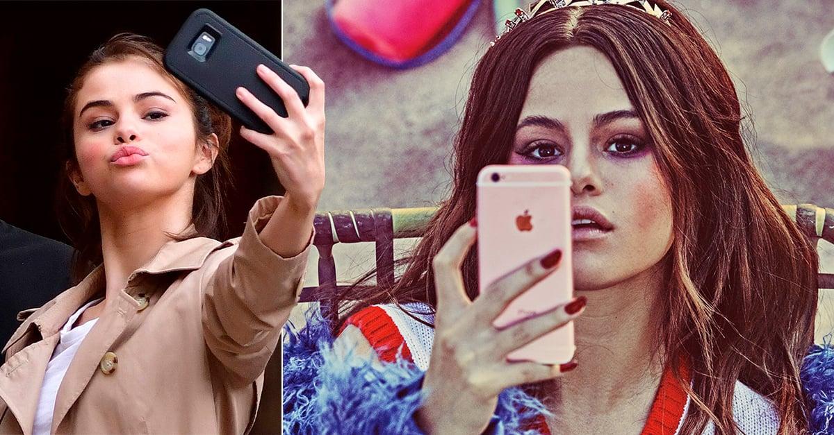 """or """"salud mental"""" elimina Istagram de su celular Selena Gomez"""