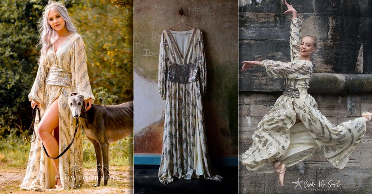 11 Mujeres usaron el mismo vestido, cada una mostró un aspecto único