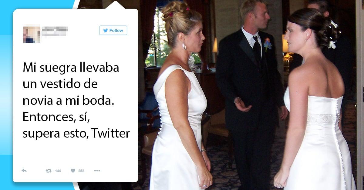 Esta novia compartió la historia de cómo su suegra usó un vestido el día de su boda