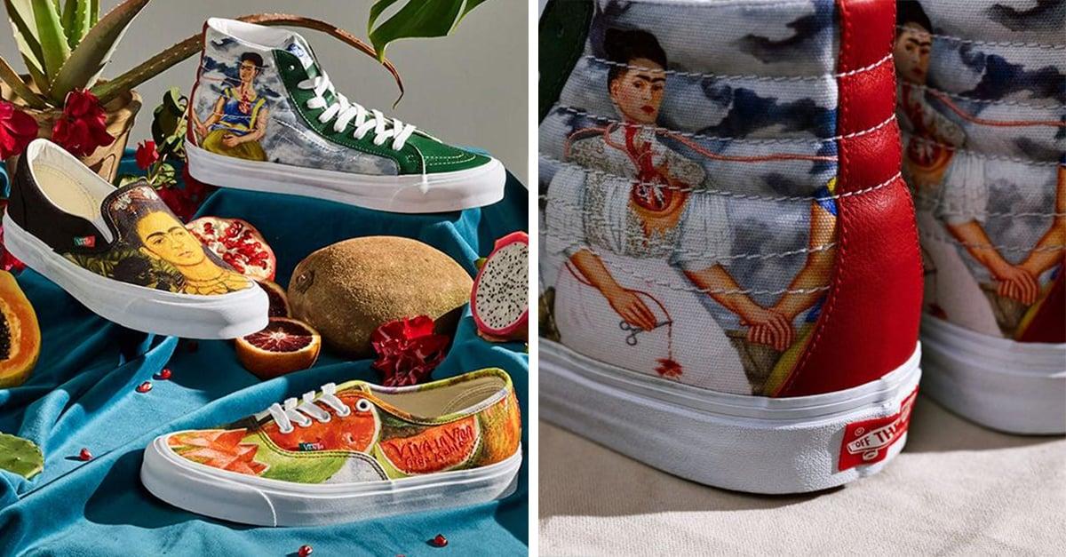 Lanzan Vans de Frida Kahlo