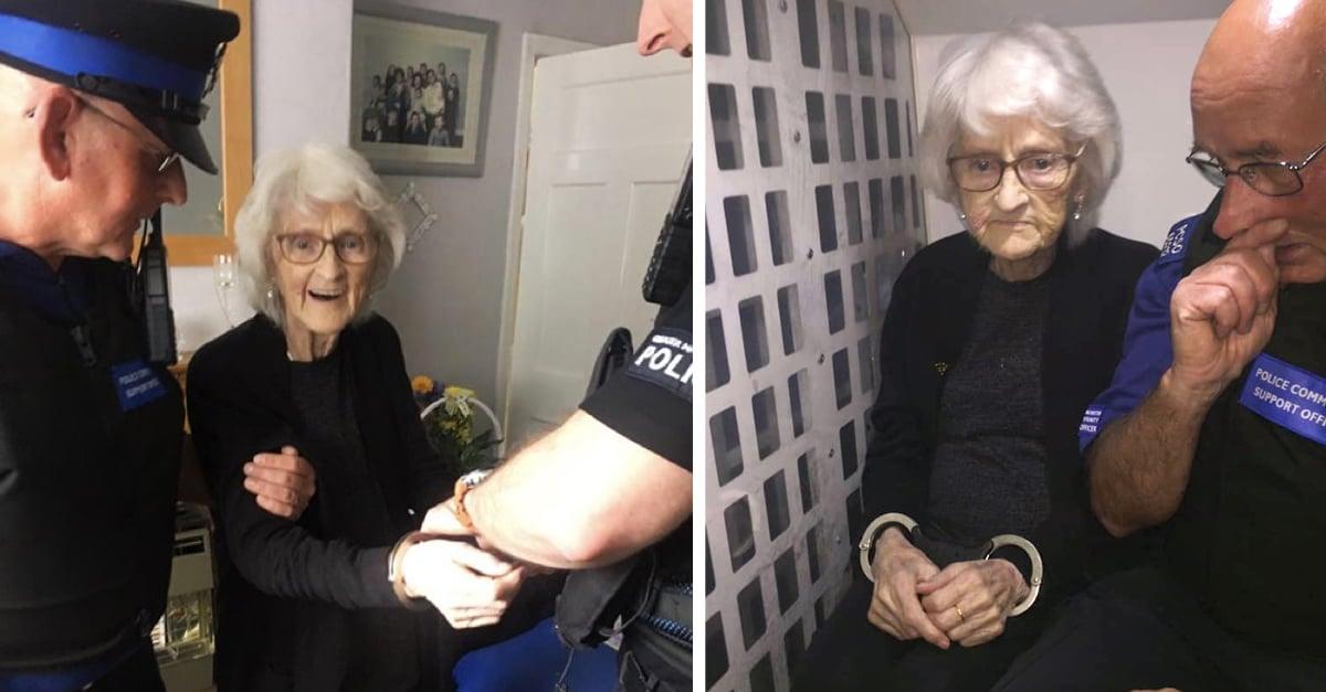 Abuelita de 93 años pide ser detenida como un último deseo