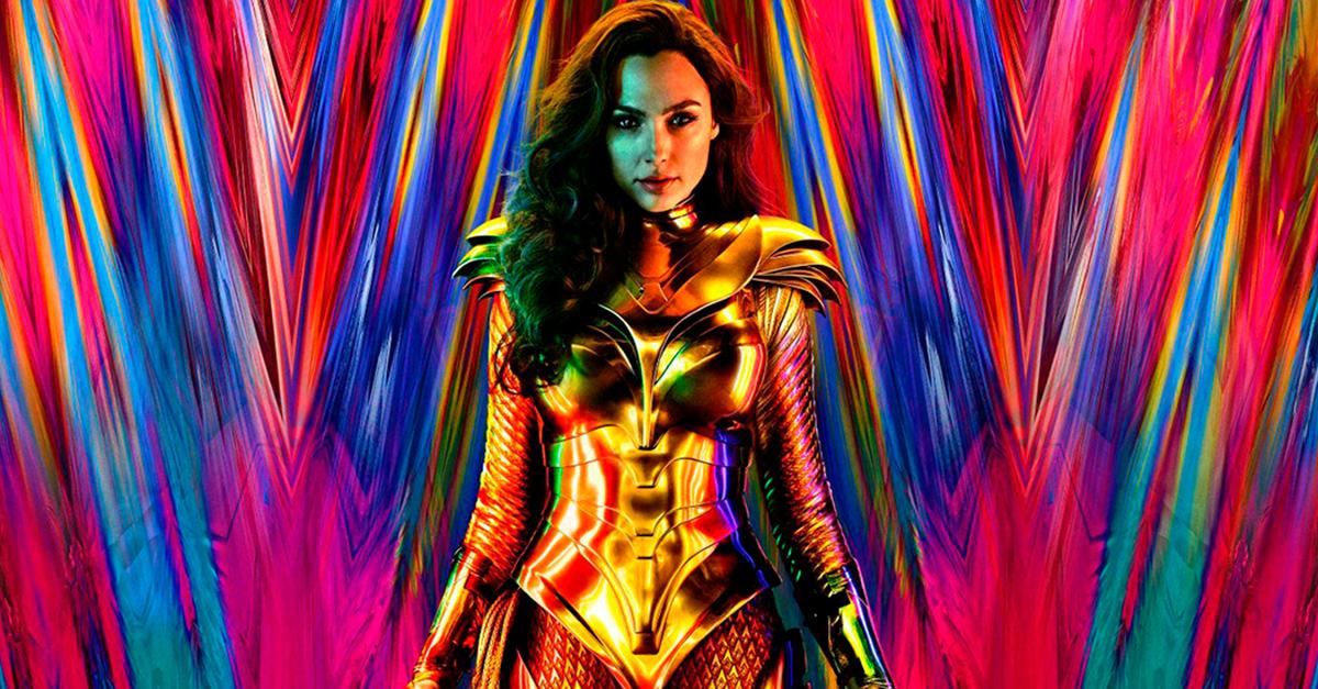 Así de cool es el primer póster oficial se 'Wonder Woman 1984'