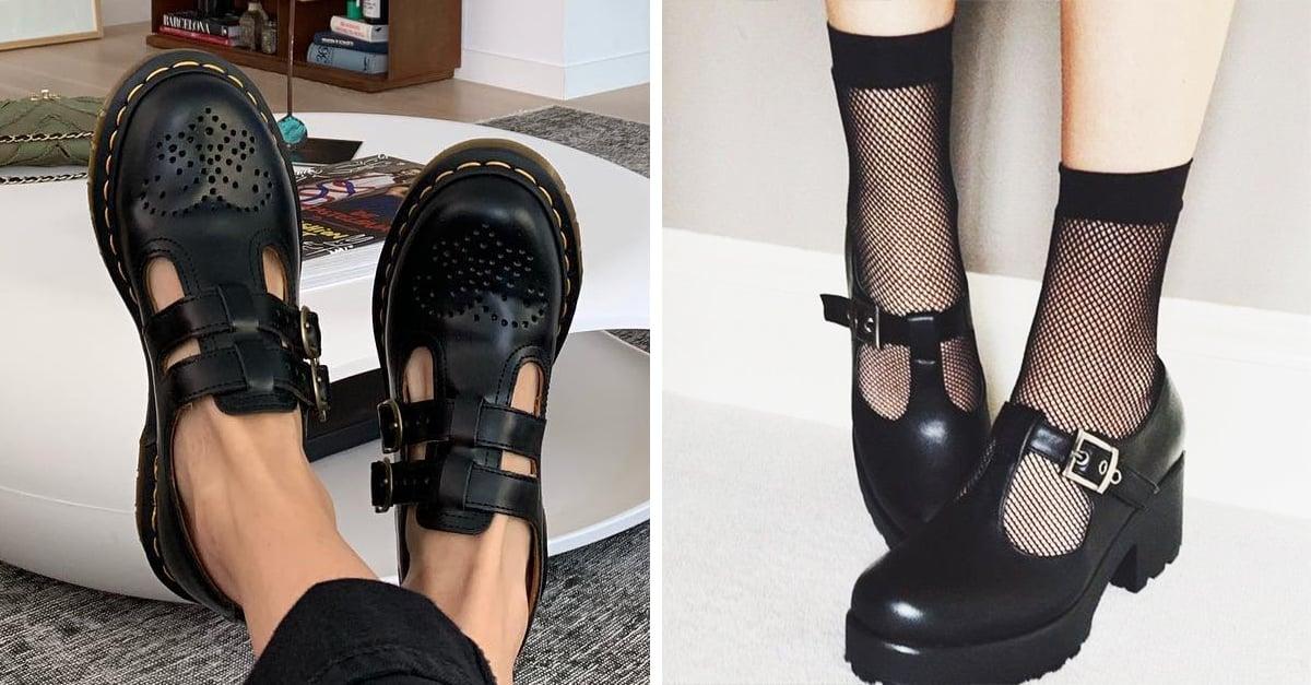 10 Pruebas de que los zapatos tipo escolar están de vuelta