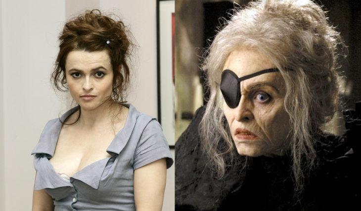 Helena Bonham Carter como La Bruja en El Gran Pez