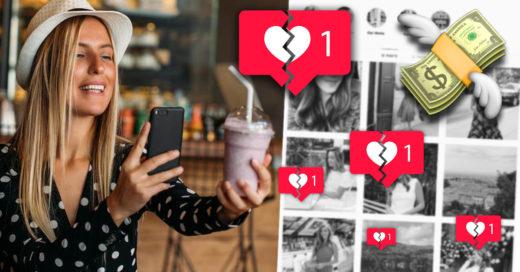 Ausencia de likes en Instagram perjudica a influencers