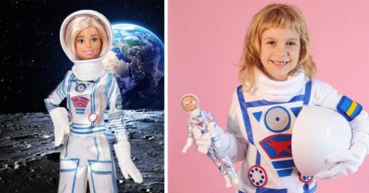 Barbie lanza muñeca astronauta para inspirar a niñas
