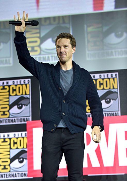 Benedict Cumberbacht en la Comic-Con de San Diego, anuncia la película de terror de Marvel, Doctor Strange in the Multiverse of Madness