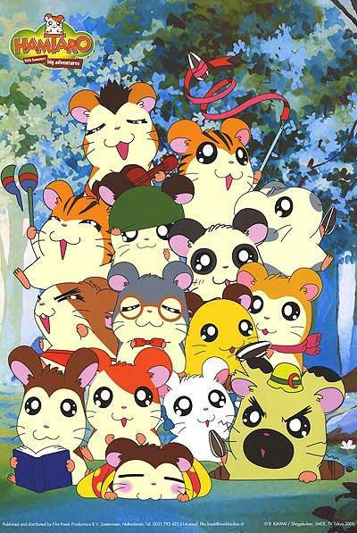 Caricatura de Cartoon netwoork: hamtaro