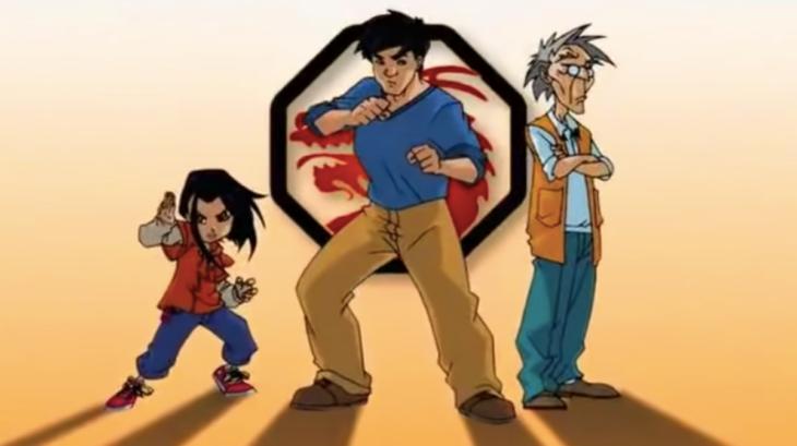 Caricatura de Nickelodeon: Las aventuras de Jackie Chan