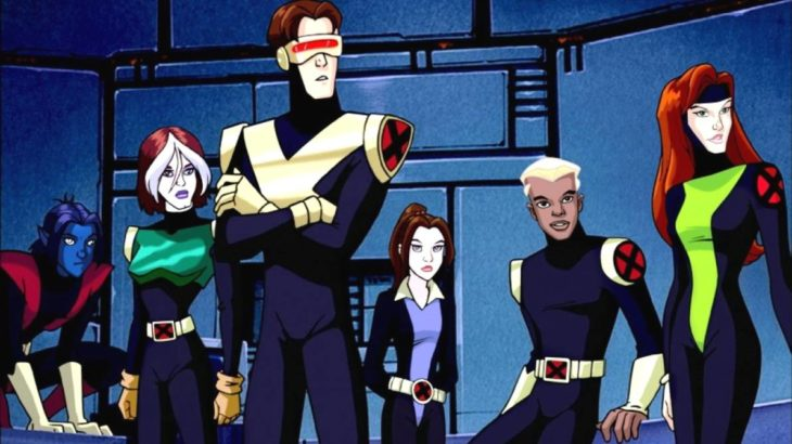 Caricatura de Cartoon netwoork: X-men: evolution