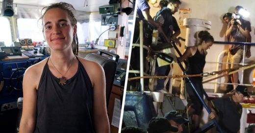 Podrían dar más de 10 años de cárcel a Carola Rackete, joven capitana de un barco que rescató a migrantes de morir en naufragio