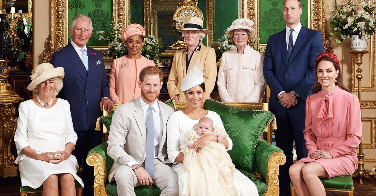 Circulan fotos del bautizo del bebé Archie, hijo de los duques de Sussex
