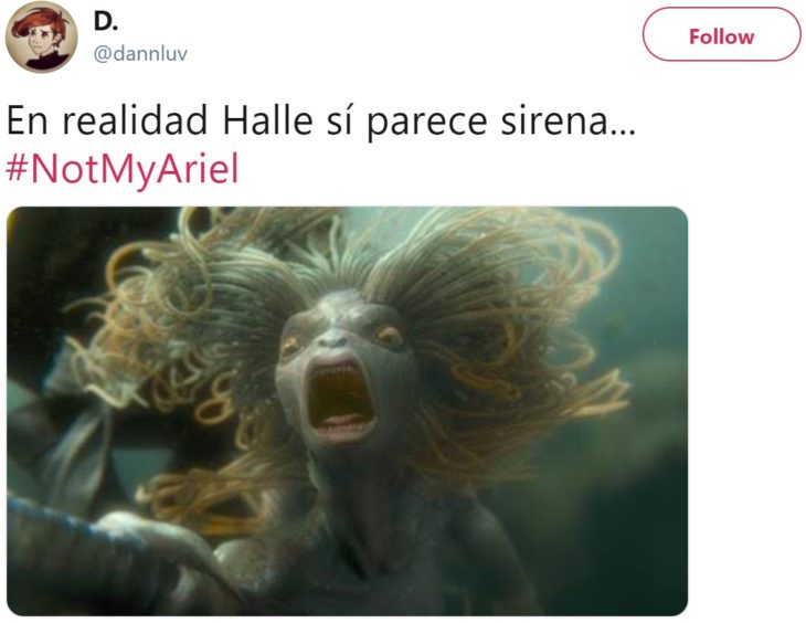 Halle Bailey será Ariel en el live action de La Sirenita e internet no está conforme, crean hashtag #NotMyAriel