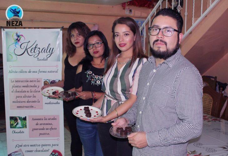 estudiantes que crearon el chocolate anticólicos