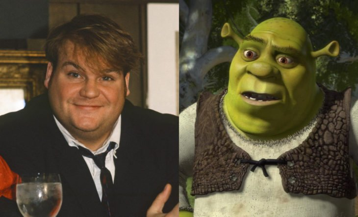 Datos sobre películas; el actor Chris Farley iba a ser Shrek