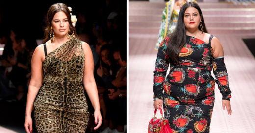 Dolce & Gabbana es la primera marca en incluir tallas grandes en su nueva colección